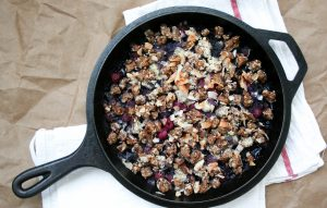 Gracitude Berry Skillet Crumble w/ Cookie Dough