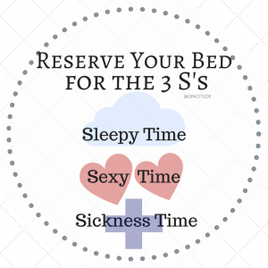 Three S's: Sleep, Sex, Sickness w/Gracitude