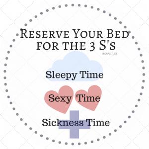 Three S's: Sleep, Sex, Sickness w/Gracitude
