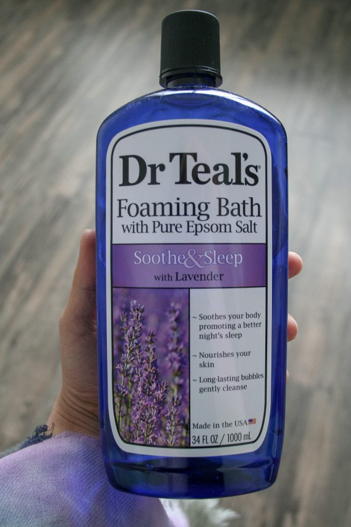 Self-Care Dr Teal's Sooth & Sleep Foaming Bath taken by Grace Wang