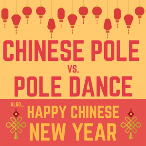 Chinese Pole vs Pole Dance