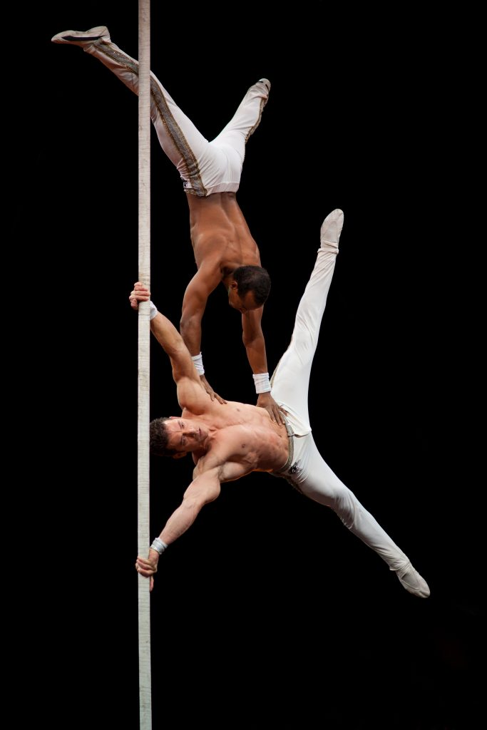 Chinese Pole Acrobats