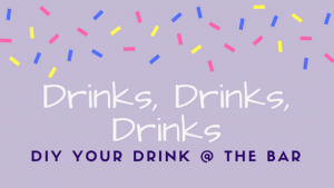 DIY Drinks gracitude