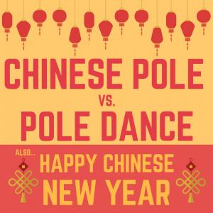 Chinese Pole vs Pole Dance